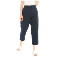 Kama Linen Pants in Navy - Beatrice Clothing Official