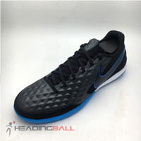 Sepatu Futsal Nike Original Legend 8 Academy IC Black Blue AT6099-004