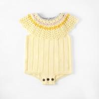 Knitted baby romper baby girl jumper bayi rajut baju bayi rajut