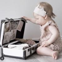 Knitted baby romper baby girl jumper bayi rajut baju bayi rajut dotty