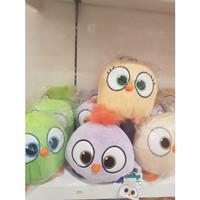 Boneka angry bird=bantal boneka angry bird=lavender=mainan lucu