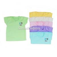 6 pcs baju anak balita 2-3thn* size XL kaos oblong atasan harian polos