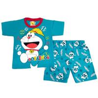 DORAEMON 0 - 10 Tahun MARUNO Setelan Baju Anak Pakaian Anak Kaos Anak