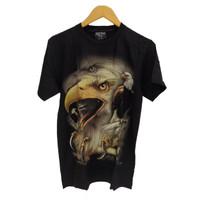 Kaos Baju Import Thailand Rock Chang 3D Glow in the dark Burung Elang