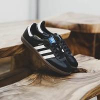 ORIGINAL 100%! Sepatu Casual Adidas Samba OG Black White BNIB