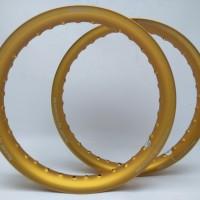 velg rims aloy TDR TK scarlet velg Ring 14 160 140 Type U Shape doff