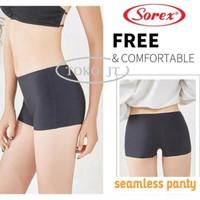 Celana Dalam Short Hot Pants Boxer Seamless Tanpa Jahitan Sorex EA 215