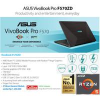 Asli Original ASUS VIVOBOOK PRO F570ZD-AMD RYZEN 5 8GB 1TB GTX1050