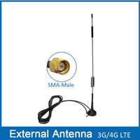 4G LTE Antenna SMA Male, GSM High Gain Omni Antenna 3 meter