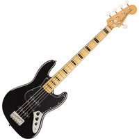 Squier Classic Vibe 70s Jazz Bass V Black nms