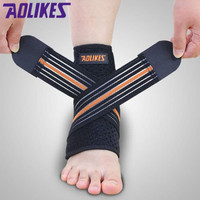 AOLIKES Ankle Bandages Ankle Support Brace Protector Fitness 1 Pcs Ori