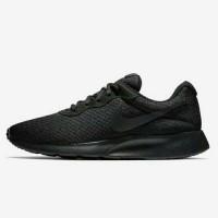 Sepatu sekolah Original Nike Tanjun ORI full All Black Hitam polos