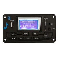 Lcd Lyrics Display Bluetooth Mp3 Decoder Board Player Audio Module 12V