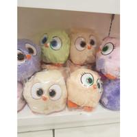 Boneka angry bird*boneka berbulu lembut*bantal bayi*nyaman buat tidur
