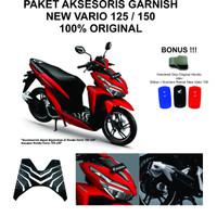 Paket Aksesoris Garnish New Vario 125 150 2018