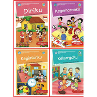 BUKU TEMATIK SD kelas 1 tema 1,2,3,4 PAKET HEMAT SEMESTER 1