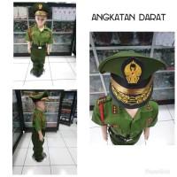 Stelan Baju seragam TNI AD AU AL anak Setelan Lengkap