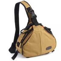 Caden K1 Waterproof Fashion Casual DSLR Camera Bag Case Messenger Shou