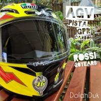 Helm AGV Pista GPR Carbon Rossi 20 Years (not Arai, Shoei, LS2, Nolan)