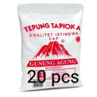 Tepung Tapioka cap Gunung Agung 500gr per dus