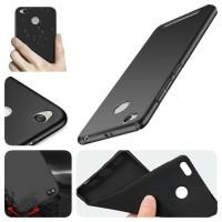 Oppo A57 a57 Tpu Slim Matte Black Babyskin Soft Case Hitam