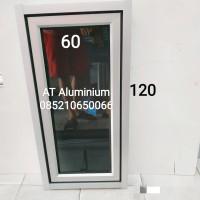 jendela aluminium 60x120 murah harga grosir