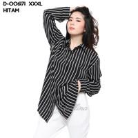 Monellina Fashion Baju Kemeja XXXL Jumbo Murah Wanita Kekinian 006171