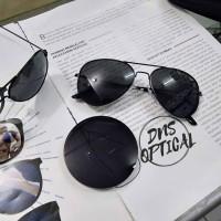 kacamata minus hitam permanen unisex / kacamata AVIATOR BL minus