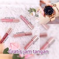 Zalfa Lippiematte Intense Lip Cream Serum Infused Pro Collagen