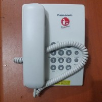 Telepon Panasonic KX-TS505 Buat Rumah Dan kantor. Panasonic KX-T505 - Putih