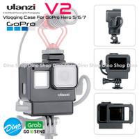 ULANZI V2 Frame Cage GoPro Hero 5 6 7 Black Vlog Casing