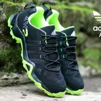 SEPATU PRIA SNEAKERS ADIDAS AX2 LOW BLACK GREEN