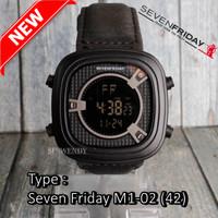 PALING LAKU !!! Jam tangan Seven Fri day Kulit Leather PREMIUM M2-01