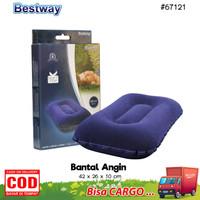 Bestway Bantal Tidur Angin Flocked Air Pillow Portable 67121