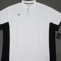 kaos polo shirt kaos pria NIKE warna putih stock tersedia