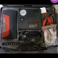 jumper aki starter power bank 36CCA dan kompresor ban mobil