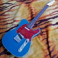 Gitar Elektrik Custom Fender Telecaster Standart Lake Placid Blue