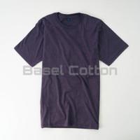 Kaos Polos Cewek Cowok Purple Misty Cotton Combed 30s