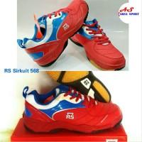 Sepatu Badminton RS Sirkuit 568 Sepatu Bulutangkis Batminton grab it f