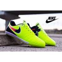 Sepatu Sport Futsal Nike Tiempo Classic Hijau Hitam Import