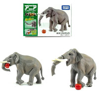 Tomica Ania AS-33 Indian Elephant mainan anak