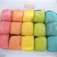 Pancake durian medium rainbow isi 15