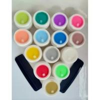 Terlaris Pomade warna mini polos non label kualitas premium Elegan