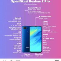 Realme 2 pro 4/64 Garansi Resmi