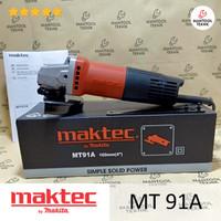 Mesin Gerinda Tangan 4 MAKTEC MT91A MT 91A MT-91A MT91 A MT 91 A