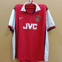 Jersey Arsenal JVC LS 1998/1999 Langka Retro