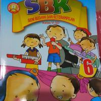Buku Buku SD SBK Seni Budaya Ketrampilan Kelas 6 Yudhistira