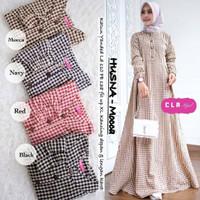 Baju Muslim Wanita Terbaru HUSNA DRESS Murah Kekinian Trendy 2019