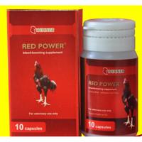 RED POWER ISI 10 KAPSUL (VITAMIN AYAM LAGA)