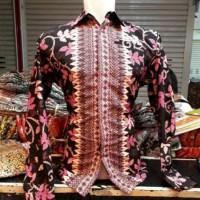 batik pria / Atasan Batik - Kemeja lengan panjang ayoda batik hem pria